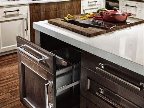 Integrated Butcher Block Countertops For Efficient Food