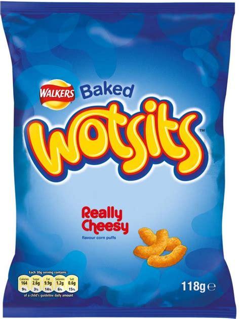 wotsits walkers baked cheesy 118g really crisps food