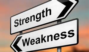 strengths and weaknesses weaknesses versus strengths