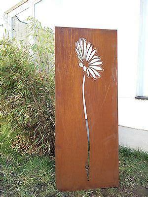 Sichtschutz Garten 50 Cm by Edelrost Garten Sichtschutz Wand Metall Rost Garten