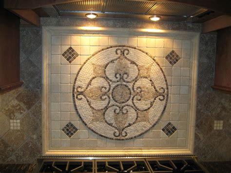kitchen backsplash medallions tile medallion backsplashes tile