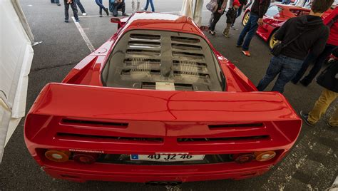 They did this because it was trade marked, and by law if you don't defend your trade mark, you it's 90s nostalgia. Ferrari F40 1989   1 315 exemplaires V8 à 90° biturbo IHI 7 …   Flickr