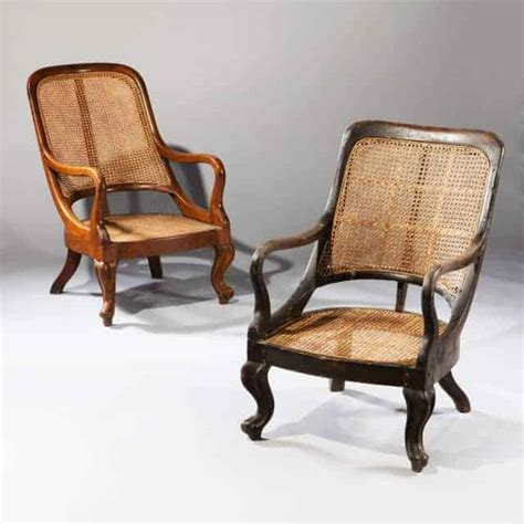 Two Armchairs by Two Spoon Back Indian Armchairs Nicholas Antiques