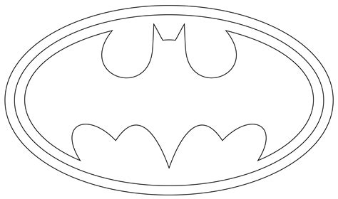 batman template printable superman logo template superman logo clip and craft