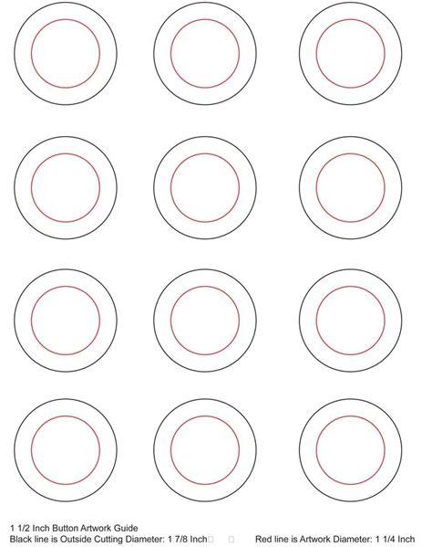 Button Template 2 1 4 Button Template Invitation Template