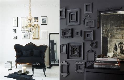 Black And Decor - back in black black home decorating ideas adorable home