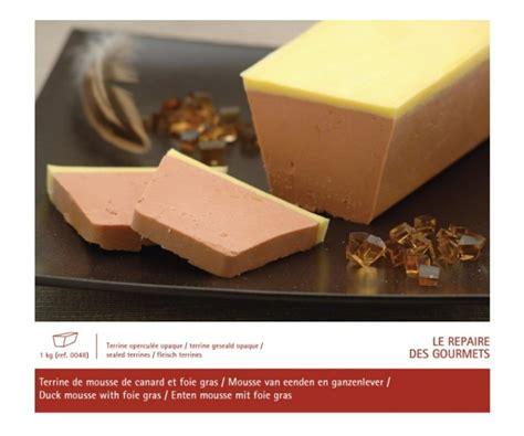cuisiner celeri mousse de canard au foie gras 1 kg