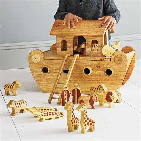 Ark Boat Nerf by Wood Noah S Ark With Animals Animal And Woods