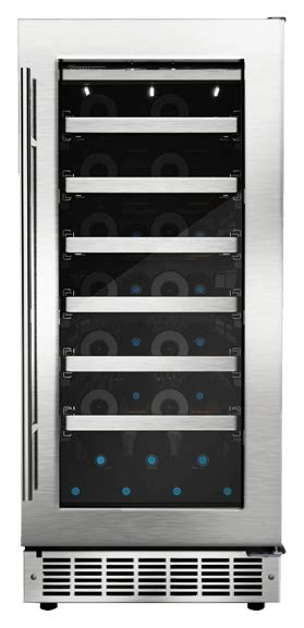 dwcdbsspr danby silhouette professional  bottle wine cooler stainless steel filco superstore