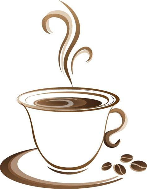 Are you looking for coffee illustration images? Cup with coffee abstract illustration vector 01 free download