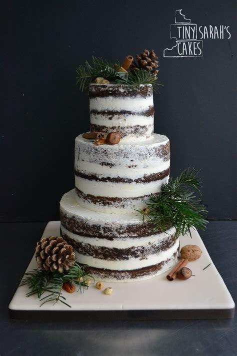 Pretty Weddings Christmas Wedding Cakes Wedding Cake