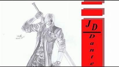 Devil Cry Dante Drawing
