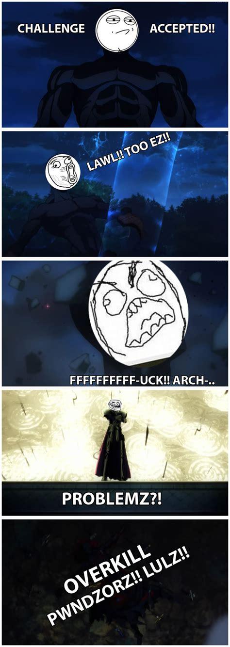 Fate Memes - meme fate zero by gameshark03 on deviantart