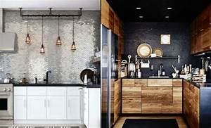 Petit Ilot Central Cuisine Ikea : am nager une petite cuisine 40 id es pour le design magnifique ~ Melissatoandfro.com Idées de Décoration