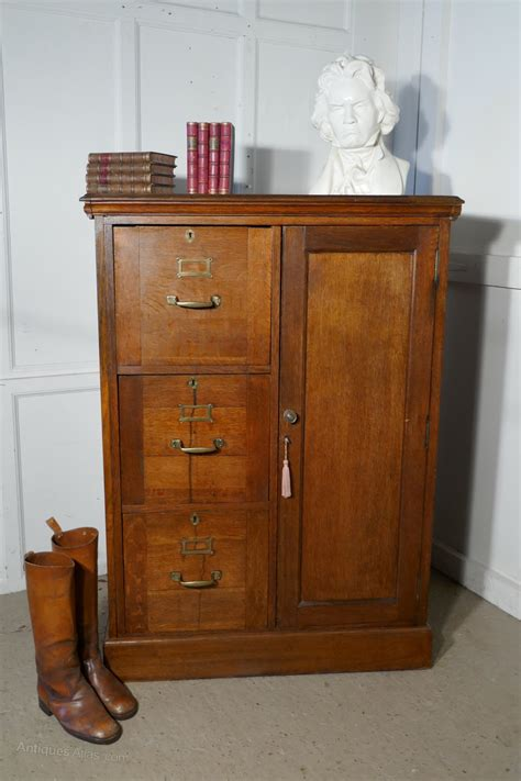 Cabinet Cupboard by Large Edwardian Oak Filing Cabinet Office Cupboard