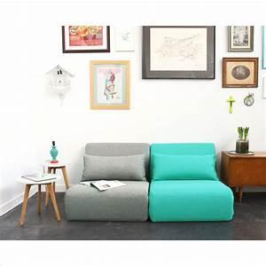 Canapé Convertible 1 Place : petite chauffeuse convertible ado by drawer ~ Teatrodelosmanantiales.com Idées de Décoration