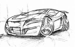 How To Draw 3d Cars Step By Step Www Pixshark