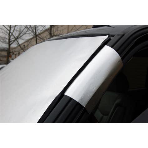 jeep custom windshield snow shade