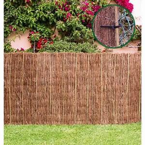 Haie Naturelle Brise Vue : cl ture en brande extra 1 x 3 m centroflor 30111000 ~ Premium-room.com Idées de Décoration