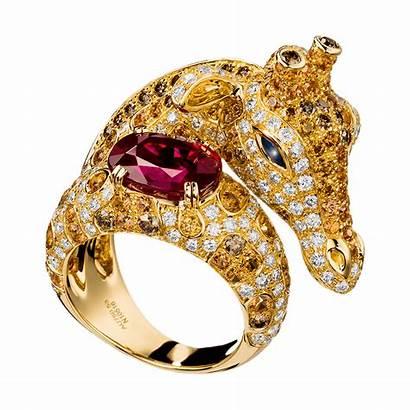 Boucheron Jewelry Animals Ring Giraffe Rings Jewellery