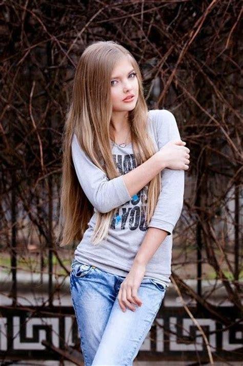 Cute Russian Teen Model Alina S Model Head Shots Pinterest Teen Models