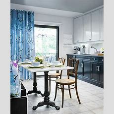 French Marble Dining Table  Contemporary  Kitchen