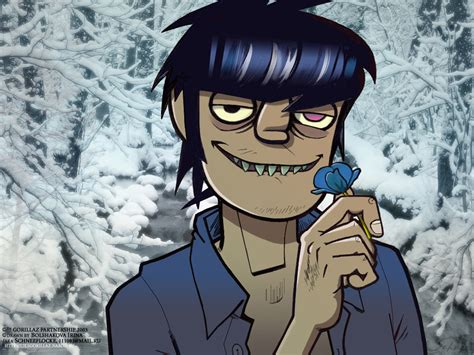 Murdoc And Flower By Iricolor On Deviantart