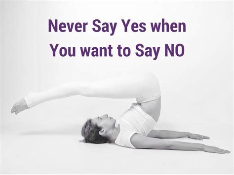 How To Never Say Yes When You Mean No In Your Pilates