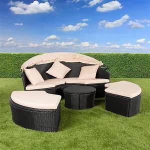 Lounge Insel Outdoor : ultranatura polyrattan sonneninsel palma serie lounge insel outdoor strandkorb ~ Bigdaddyawards.com Haus und Dekorationen
