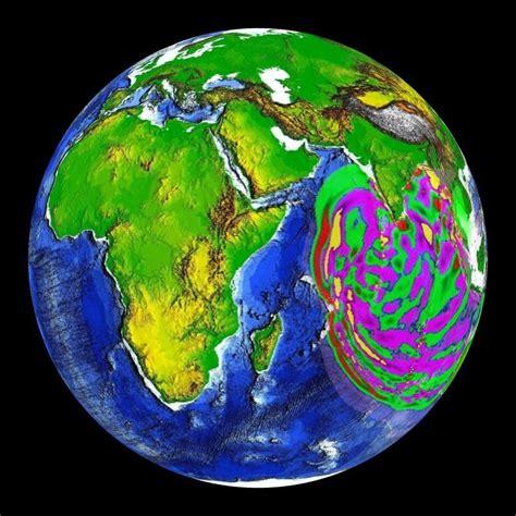 indian ocean tsunami wave movement
