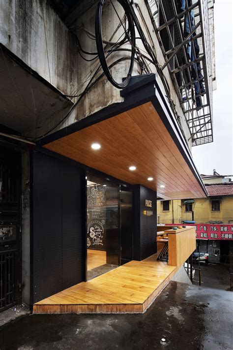 coffee shop  inserted   older apartment