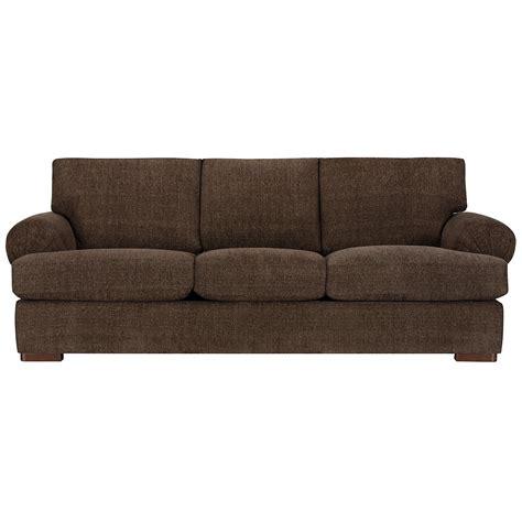 Dark Brown Microfiber Sofa Thesofa