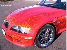 BMW Flames BMW Z3 Custom Cutting Edge Illusions