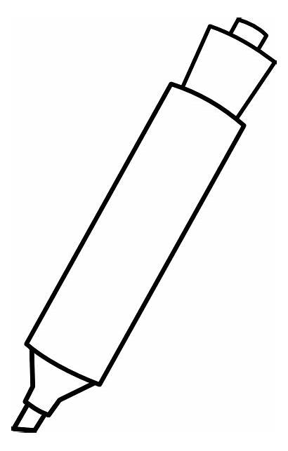 Marker Markers Clip Clipart Cliparts Vector Steel