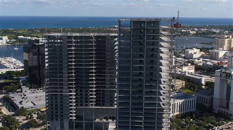 Work resumes on two West Palm Beach towers, untouched for ...