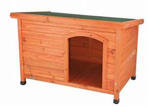 Trixie natura flat roof dog kennel medium 85 58 60 cm for Trixie dog house insulation