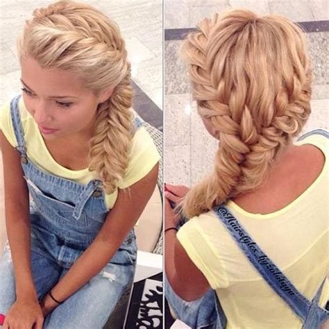 unique fishtail braid hairstyles  tutorials  ideas