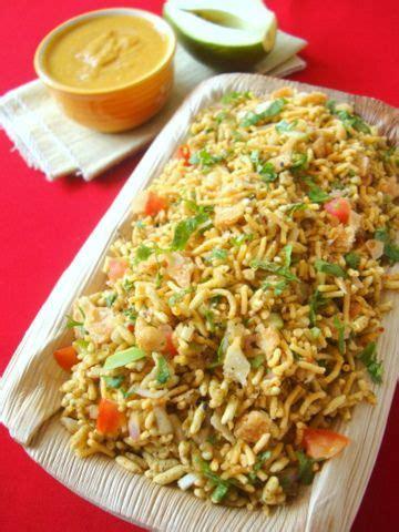 bhel puri recipe bhel puri chaat indian cuisines