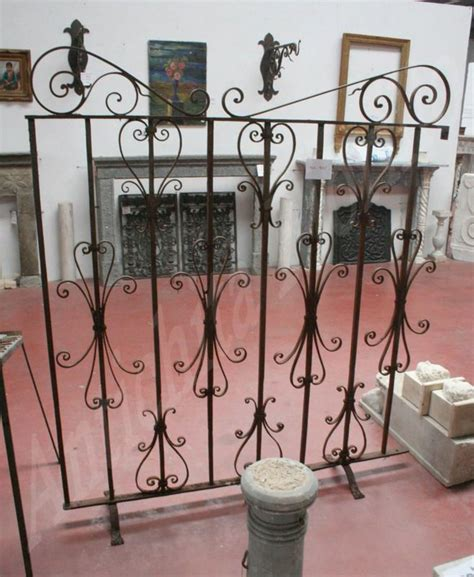 ringhiera antica ringhiera antica in ferro battuto epoca 1800
