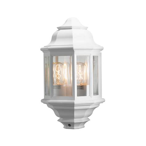 konstsmide 7238 250 cagliari matt white outdoor wall light
