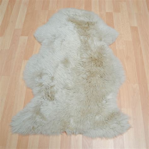 Bowron Sheepskin Rugs In Stone  Free Uk Delivery The