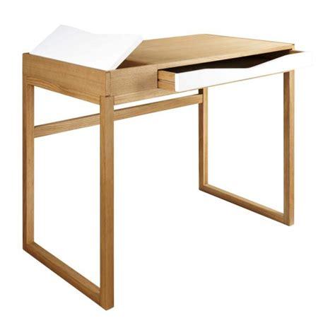 bureau en chene greta bureau en chêne habitat