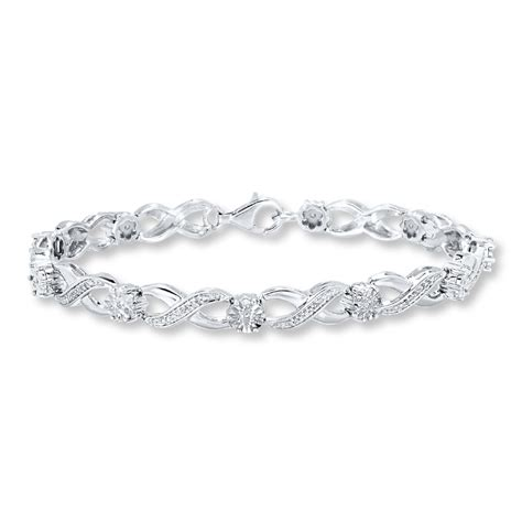 Diamond Bracelet 14 Carat Tw Sterling Silver  111609208. Pendant Necklaces. Crescent Necklace. Unconventional Wedding Rings. Gold Chain Medallion. Design Necklace. Matching Bands. Ankle Bracelets For Guys. Emerald Cut Eternity Band
