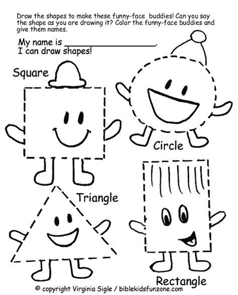 shapes assessment free worksheet shapes activities