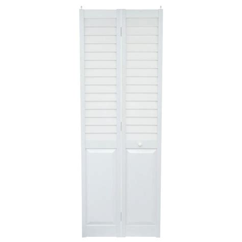 louvered bifold home fashion technologies 28 in x 80 in 3 in louver