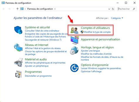 compte minute cuisine windows 10 gestion des comptes d 39 utilisateur à l