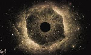 The Black Hole Of The Eye on Behance
