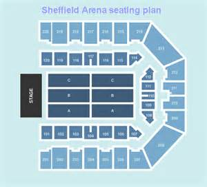 floor plans for sheffield central sheffield arena seating plan