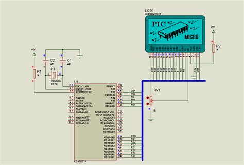 Picf Circuit Examples Microbasic Proteus Isis