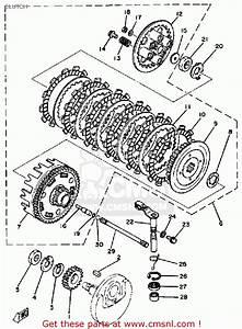 Yamaha Sr250 1981 Exciter1 Usa Clutch